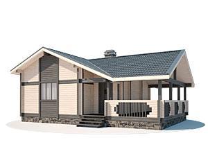 Недорогие деревянные дома