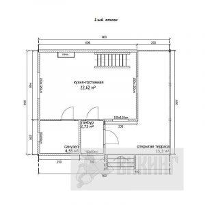 Прибылово (План 1-го этажа)