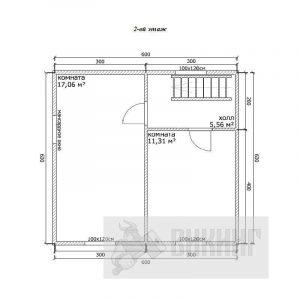 Прибылово (План 2-го этажа)