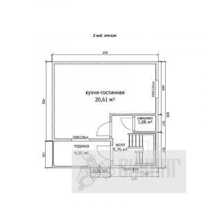 Синявино (План 1-го этажа)