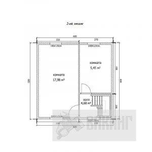 Синявино (План 2-го этажа)