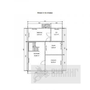 Авиагородок (План 1-го этажа)