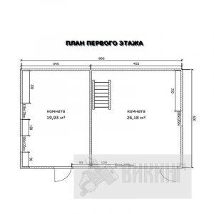 Дунай (План 1-го этажа)