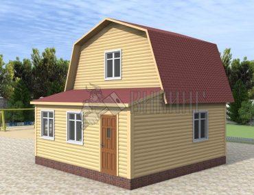 Деревянный дом 6x6 Гамма-10
