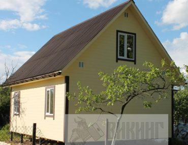 Каркасный дом с мансардой 6х8 «Авиагородок»
