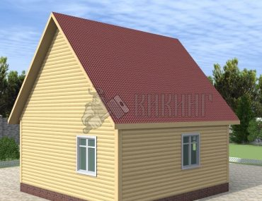 Деревянный дом 6x6 Гамма-20