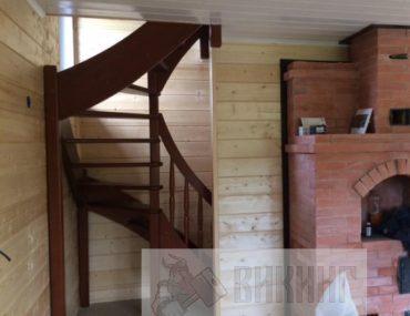 Каркасный дом с мансардой 6х8 «Большая Ижора»
