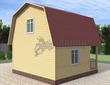 Деревянный дом 6x6 Гамма-23