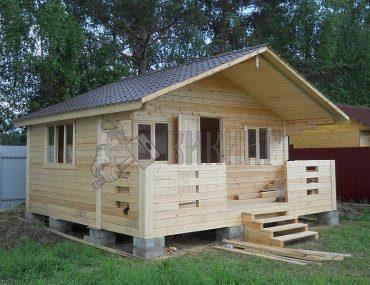 Садовый дом 5х4,5 с террасой
