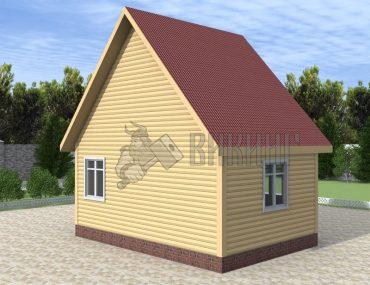 Деревянный дом 4x5 Гамма-2