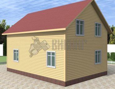 Деревянный дом 8x9 Альфа-22