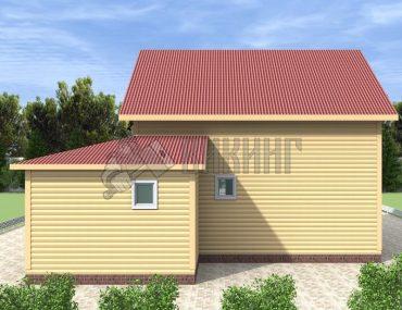 Деревянный дом 10,5x11,5 Альфа-30
