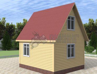 Деревянный дом 4x5 Гамма-4