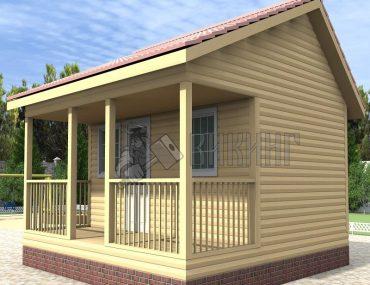 Садовый дом 6x6