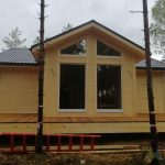 Одноэтажный каркасный дом 7х8