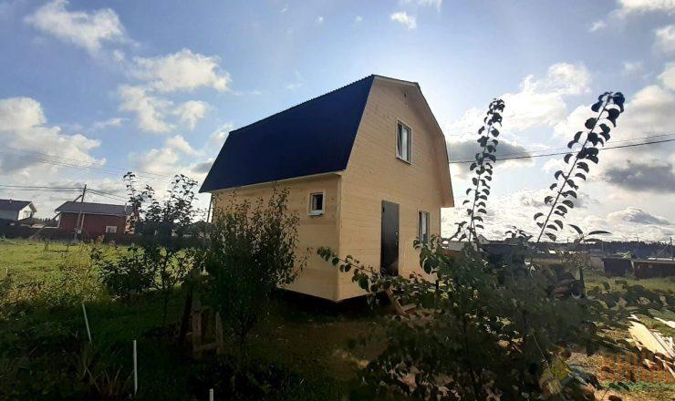 Каркасный дом с мансардным этажом 6х6м Проект «Прилесье» - Портфолио (примеры работ)