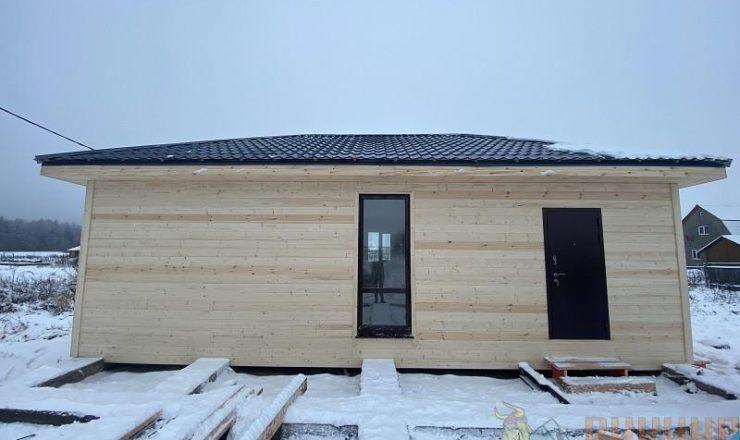 Каркасный одноэтажный дом 6х10